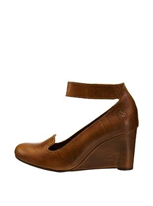 Fly London Zapatos Tira (Marrón)