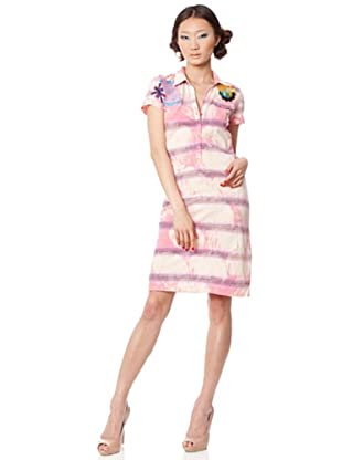 Custo Vestido Moe (rosa / negro)