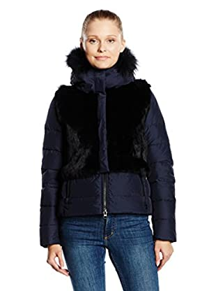 ADD Plumas Down Detachable Fur Vest