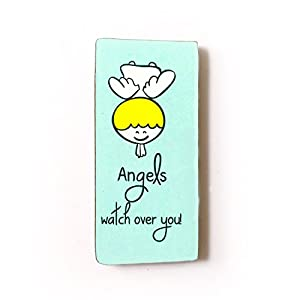 The Little Things Angels watch over you - Fridge Magnet