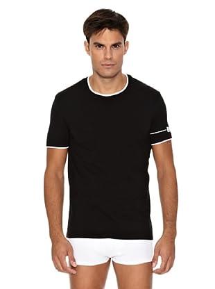 D&G Camiseta Ribete (Negro)