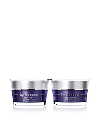 Hyaluronce Anti-Aging-Set2: 2x Age Control Day&Night Creme à 50ml
