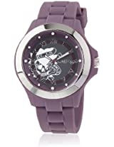 Eh 1116 Pu Purple/Grey Analog Watch