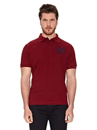 Polo Club Polo Custom Fit Logo Big (Granate)