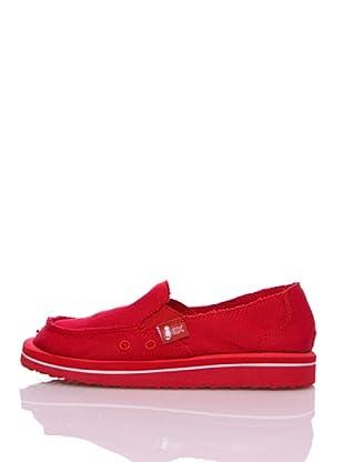 Wax Zapatillas Ecológicos (Rojo)