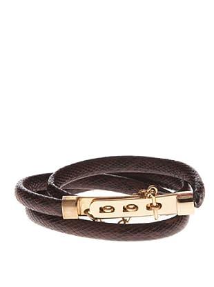 Pepe Jeans London Cinturón Lucia (Marrón Oscuro)