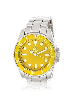 FORTUNE Women's NWY377577YE Yellow Stainless Steel Watch