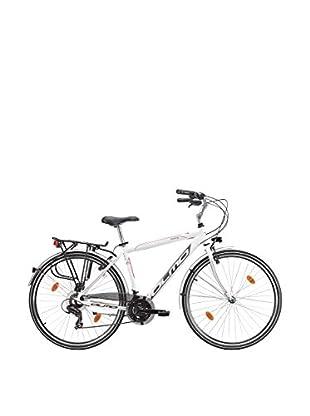 Olmo Bicicleta City Moving 21V Hombre Blanco