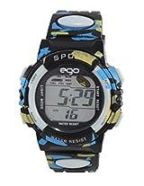 Ego by Maxima Digital Black Dial Men's Watch - E-37183PPDN
