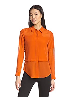 Chelsea and Walker Women's Padu Shirt with Rib Cuff