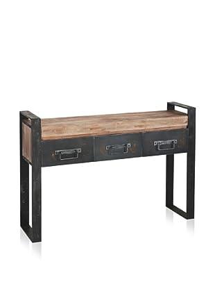 Mercana Carga Table, Natural/Brown
