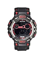 Sonata Digital Black Dial Men's Watch - 77009PP01