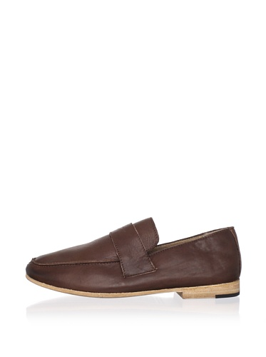 JD Fisk Men's Reed Loafer (Brown Leather)