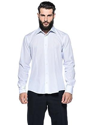 Romeo Gigli Milano Camisa (Azul / Blanco)