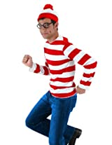 Elope Where's Waldo Adult Costume Kit,