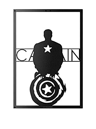 Best Seller Living Wanddeko Captain America