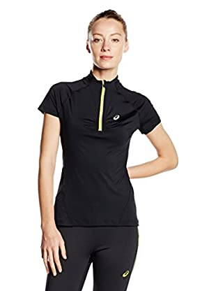 Asics T-Shirt Mile Ss 1/2 Zip