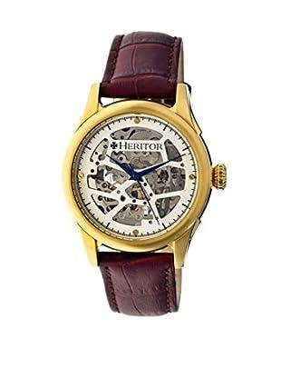 Heritor Automatic Uhr Nicollier Herhr1904 dunkelbraun 43  mm
