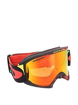 Oakley Skibrille 7045 59-500 schwarz/rot