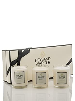 Heyland&Whittle Set 3 Velas Premium Gold