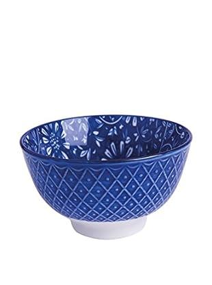 Soul Kitchen Schüsselchen 6er Set Oriented Flowers blau