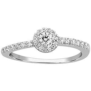 Kama Jewellery 950 Platinum Diamond Ring