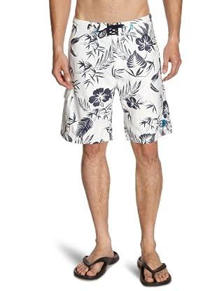 JACK & JONES Shorts (Blanco / Azul)