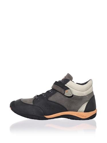 Kickers Kid's Spredo High Top Sneaker (Toddler/Little Kid) (Black)
