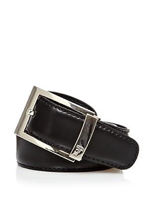 Versace Cinturón Piel (Negro)