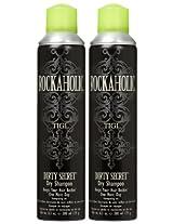 TIGI Rockaholic Dirty Secret Dry Shampoo, 6.3 oz, 2 pk