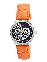 Giordano Analog Black Dial Women's Watch - A2009-03