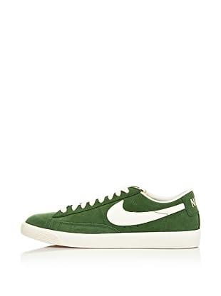 Nike Zapatillas Blazer Low Prm Vntg Suede (Verde / Blanco)