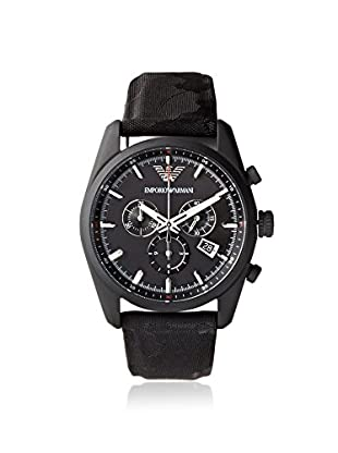 Emporio Armani Men's AR6051 Sport Black Canvas Watch