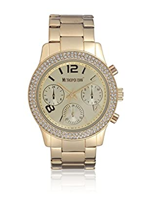 Metropolitan Reloj de cuarzo  Dorado 39 mm