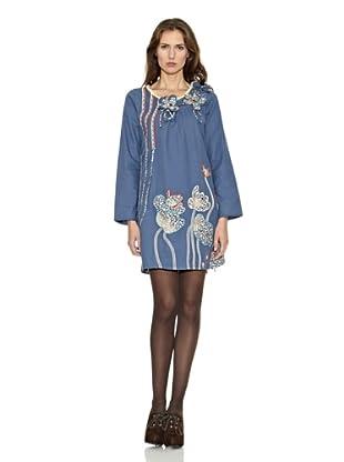 Isabel Morgado Vestido Sevilla (Azul)