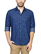 Allen Solly Men Comfort Fit Shirt_ALSF514C04954_40_Blue