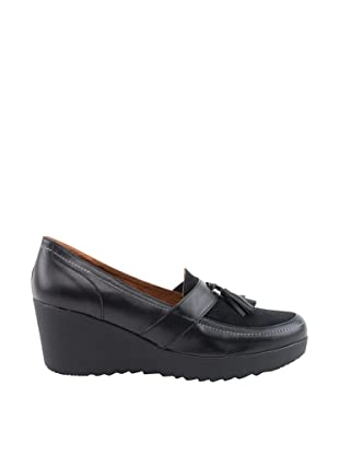 Liberitae Zapatos Borlas (Negro)