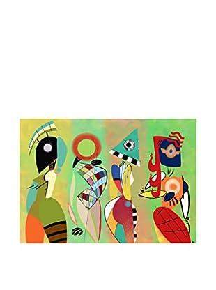 LegendArte  Wandbild Las Musas De Kandinsky
