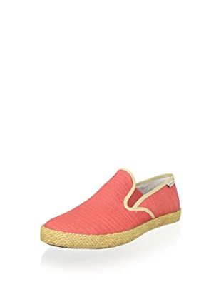 SeaVees Men's Baja Slip-On Espadrille (Sunset/Panama Beige Slub)