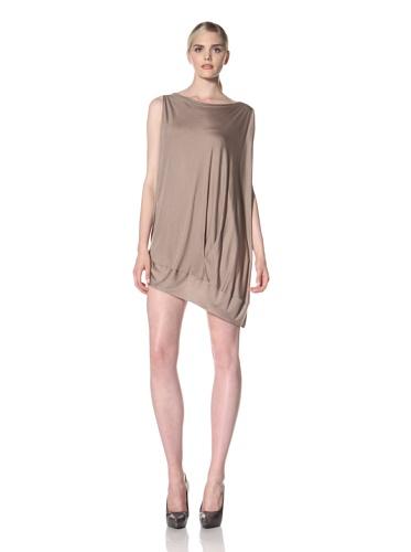 Zero + Maria Cornejo Women's Off The Shoulder Bubble Dress (Clay)
