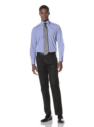 Valentino Men's Dress Shirt (Blue)