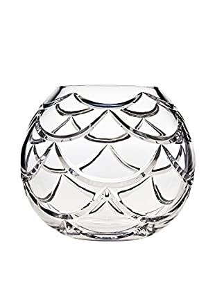 Godinger Small Pinecone Rose Bowl, Clear Crystal