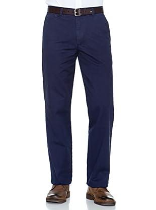 Dockers Pantalón Comfort De Algodón (Azul Marino)