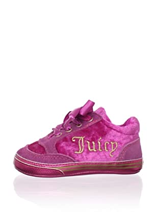 Juicy Baby Ribbon Lace-Up Shoe (Pink)