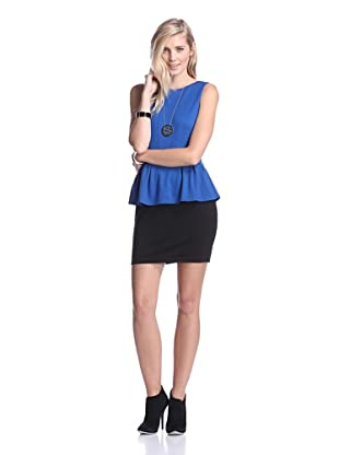 Tart Collections Women's Petaluma Dress (Cobalt/Black)