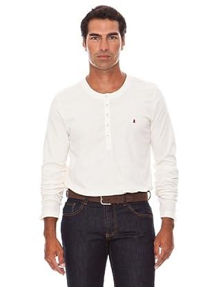 Caramelo Camiseta Leio Botones (crudo)