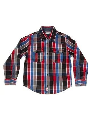 Timberland Kids Camisa Bolsillos (Multicolor)