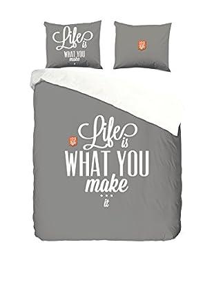 Good Morning Bettdecke und Kissenbezug Life