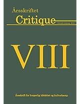 Arsskriftet Critique VIII