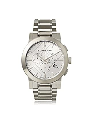 Burberry Men's BU9350 The City Chronograph Silver Stainless Steel Watch